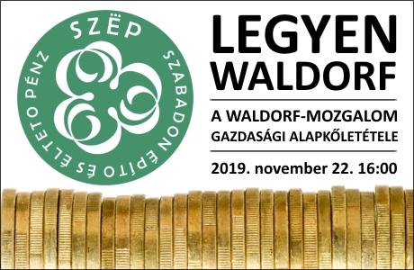 Meghívó a Waldorf-mozgalom gazdasági alapkőletételére